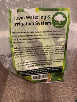 Lawn irrigation sprinkler for Sale in Happy Valley,  OR