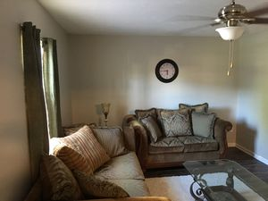 H. M Richards Couch and love seat with 3 tables for Sale in GILLEM ENCLAVE, GA