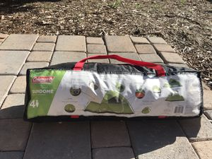 Coleman 4 person tent for Sale in Oceanside, CA
