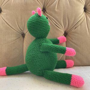 Crochet Cat, Crochet Kitten, Newborn Infant First Toy for Sale in Burlington, MA