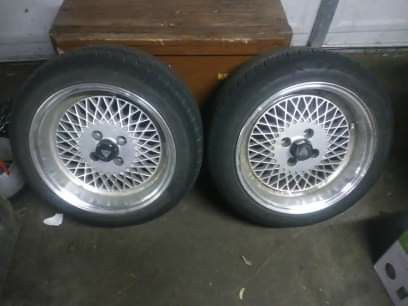 Enkei 92 state Civic and Integra good tires only two
