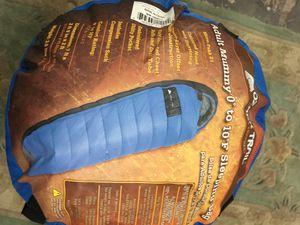 Adult mummy sleeping bag Includes the original Bag dark blue for Sale in Boca Raton, FL