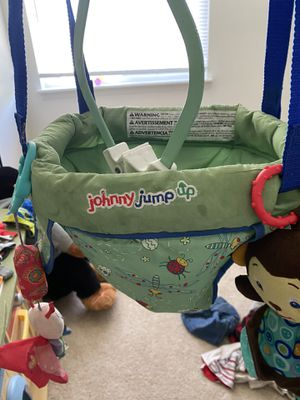 Johnny jump up baby jumper for Sale in Riverview, MI