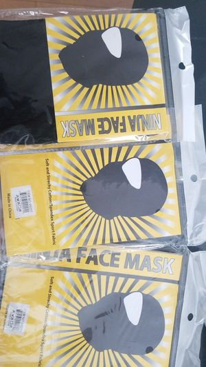 Ninja face mask for Sale in The Bronx, NY