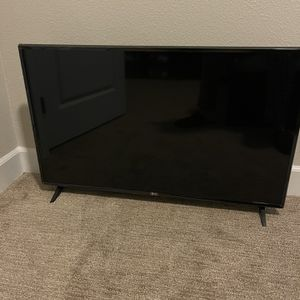 LG 43 inch 4K TV for Sale in Frisco, TX