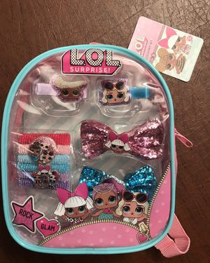 Mini L.O.L backpack with hair accessories for Sale in Fontana, CA