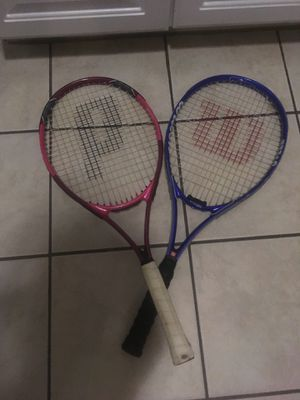 Wilson and Prince Tennis Rackets for Sale in Dublin, OH