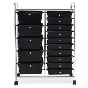 15-Drawer Utility Rolling Organizer Cart Multi-Use Storage! New/Nuevo! $50! for Sale in Riverside, CA