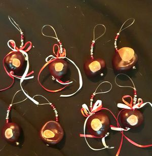 Buckeye ornaments and necklaces for Sale in Columbus, OH