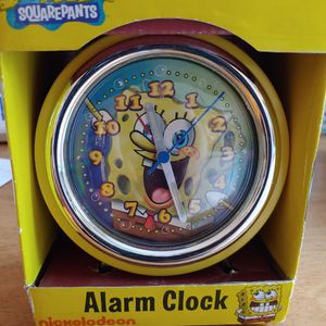 Spongebob Retro Alarm Clock for Sale in Minnesott Beach, NC