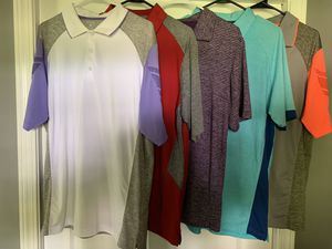 Golf shirts size (L) Antigua for Sale in Cadwell, GA