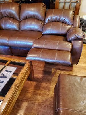Leather furniture set for Sale in Naperville, IL