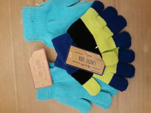 Three pairs of kids winter gloves for Sale in Santa Ana, CA