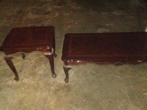 Coffee table and end table for Sale in Lynchburg, VA