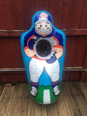 Little Tikes Inflatable Football Trainer - 4 Feet Tall - Excellent Condition for Sale in Chicago, IL