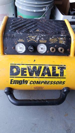 Dewalt Air compressor for Sale in Poway, CA