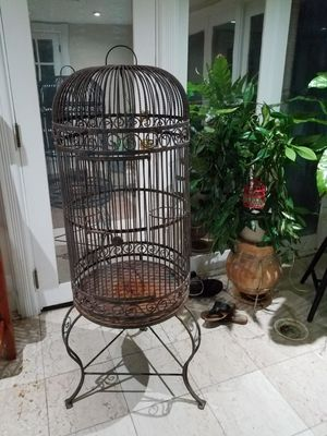 Cage for defeating purpose only. 4.5 feet tall for Sale in Escondido, CA