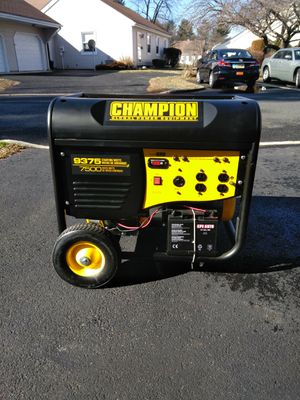 Champion Generator for Sale in Freehold, NJ