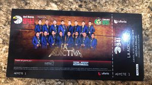 Tengo dos boletos para la banda la adictiva en medusa Dallas for Sale in Dallas, TX