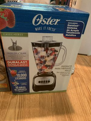 Oster 'waffle maker' and blender for Sale in Concord, CA