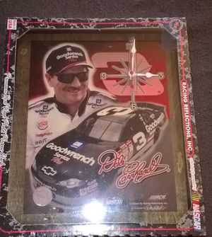 Dale Earnhardt #3 Photo Plaque Clock Racing Reflections - new old stock never out of sealed package for Sale for sale  Bristol, PA