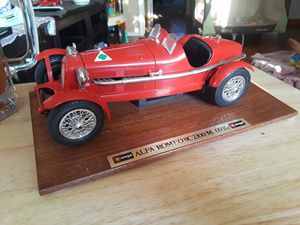 Diecast 1931 Alfa Romeo 1:18 1/18... LOTS OF MORE CARS ON MY PAGE!!! for Sale in Montebello, CA