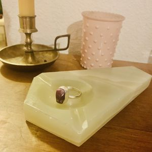 Custom Raw Ruby Sterling Silver Ring for Sale in Fairview, OR