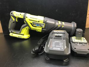 RYOBI RECIPROCATING SAW/CHARGER/BATTERY for Sale in Orange City, FL