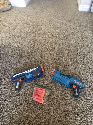 2 Mega Nerf Guns with Bullets for Sale in NV, US