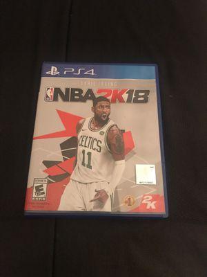 NBA 2k 18 for Sale in Stockton, CA