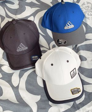 3 Brand New Adidas Hats with tags for Sale in Los Angeles, CA