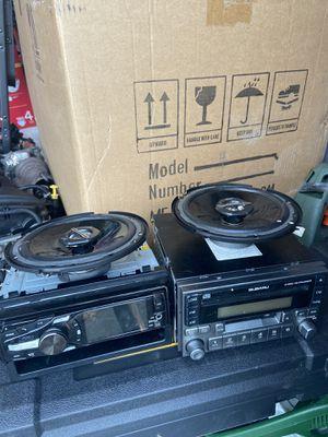 Car stereos dual and Subaru for Sale in Auburn, WA