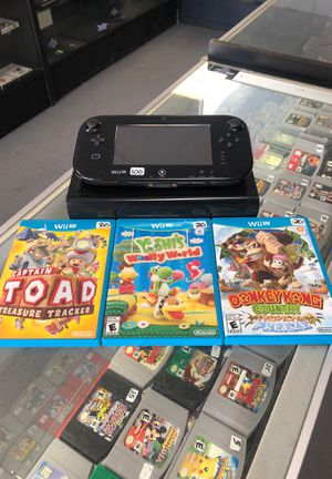 Wii U Bundle for Sale in Santa Clarita, CA