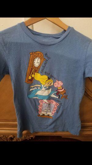 Disney Store Vintage Y2K Alice in Wonderland Shirt for Sale in Los Angeles, CA