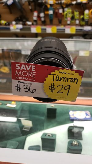 Tamron camera lens for Sale in Chicago, IL