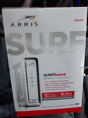 Arris Modem SB8200 for Sale in Fort Worth, TX