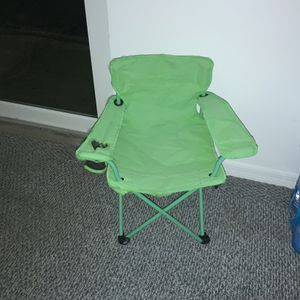 Green Used Chair For Kids for Sale in Miami, FL