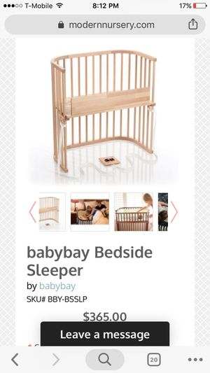 Cosleeper crib - BabyBay designer for Sale in Boston, MA