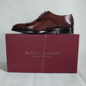 To Boot New York Men's Leather Oxford Size 10 M AND 12 M Cork MSRP $395.00 for Sale in Cleveland, OH