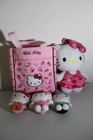 Hello kitty doll and bag for Sale in San Jose, CA
