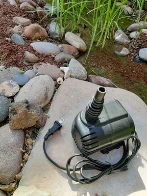 317 GPH Submersible Pump Aquarium Fish Tank Fountain Water Hydroponic for Sale in Las Vegas, NV