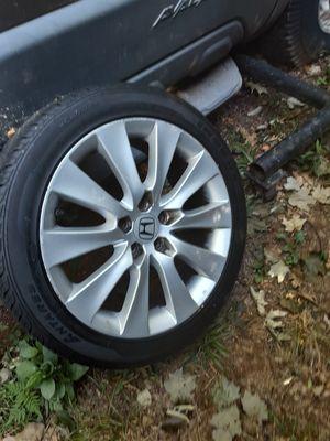 "5x114.3 18"" Honda' Accords ((read post please)) for Sale in Meriden, CT"
