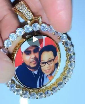 Custom photo necklace for Sale in Hoboken, NY