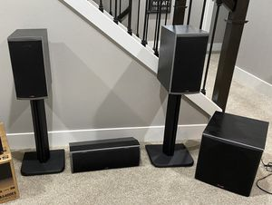Polk Audio Home Theater Speakers for Sale in Bonney Lake, WA
