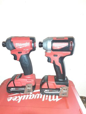 Milwaukee fuel drill & milwaukee brushless drill for Sale in Alamo, TX
