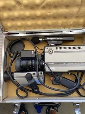 Toshiba Color Video Camera w/ mic and viewfinder for Sale in HUNTINGTN BCH, CA