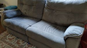 Loveseat sofa with electric recliner for Sale in Malden, MA