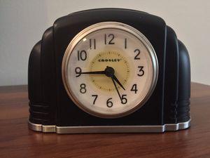 Crosley Vintage Deco Bakelite Alarm Clock & Nightlight for Sale in Fort Lauderdale, FL