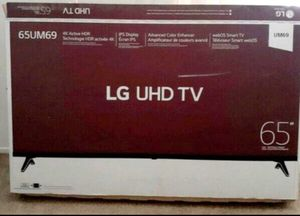"65"" Lg Smart 4K UHD tv hdr 2160p for Sale in Rancho Cucamonga, CA"