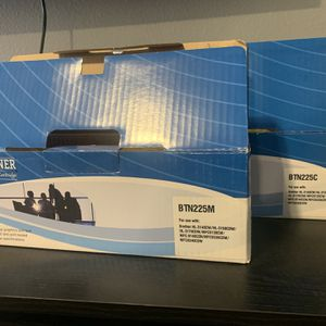 Printer Toner (cyan & magenta) for Sale in Auburn, WA